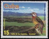Cl: Cuban Woodpecker (Xiphidiopicus percussus)(Endemic or near-endemic)  SG 4689 (2003)