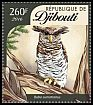 Cl: Barred Eagle-Owl (Bubo sumatranus)(Out of range) (I do not have this stamp)  new (2016)