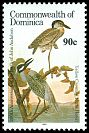 Cl: Yellow-crowned Night-Heron (Nyctanassa violacea) SG 1015 (1986) 200