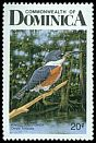 Cl: Ringed Kingfisher (Ceryle torquatus)(Repeat for this country)  SG 1042 (1987) 40