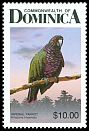 Cl: Imperial Parrot (Amazona imperialis)(Endemic or near-endemic)  SG 1051 (1987) 500