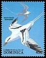 Cl: White-tailed Tropicbird (Phaethon lepturus)(Repeat for this country)  SG 1129 (1988) 50