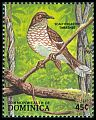 Cl: Scaly-breasted Thrasher (Allenia fusca) SG 1132 (1988) 50