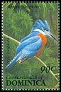 Cl: Ringed Kingfisher (Ceryle torquatus)(Repeat for this country)  SG 1673 (1993) 70