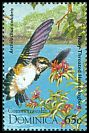 Cl: Ruby-throated Hummingbird (Archilochus colubris)(Out of range)  SG 1949 (1995) 30