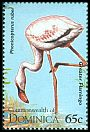 Cl: Caribbean Flamingo (Phoenicopterus ruber)(Repeat for this country)  SG 1951 (1995) 30
