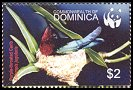 Cl: Purple-throated Carib (Eulampis jugularis)(Repeat for this country)  SG 3413 (2005)  [3/41]