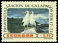 Cl: Nazca Booby (Sula granti)(Endemic or near-endemic)  SG 1525 (1973) 55