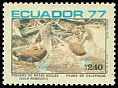 Cl: Blue-footed Booby (Sula nebouxii) <<Piquero de patas azules>> (Endemic or near-endemic)  SG 1688 (1977) 130