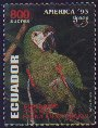 Cl: Chestnut-fronted Macaw (Ara severa) <<Guacamayo>>  SG 2177 (1993) 300