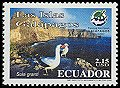 Cl: Nazca Booby (Sula granti) <<Piqueri Patas Azules>> (Endemic or near-endemic)  SG 2757 (2005)