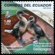 Cl: Flightless Cormorant (Phalacrocorax harrisi) <<Cormoran no volador>> (Endemic or near-endemic)  SG 3147i (2009)