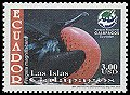 Cl: Magnificent Frigatebird (Fregata magnificens)(Repeat for this country)  SG 2758 (2005)