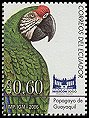 Cl: Great Green Macaw (Ara ambigua) <<Papagayo de Guayaquil>>  new (2006)  [4/1]