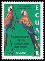 Cl: Red-and-green Macaw (Ara chloroptera) <<Guacamayo>>  SG 2345 (1999)
