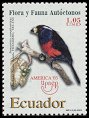 Cl: Toucan Barbet (Semnornis ramphastinus) <<Barbudo Tucan>> (Endemic or near-endemic)  SG 2703 (2003)