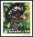 Cl: Great Curassow (Crax rubra) <<Pajuil>> (Repeat for this country)  SG 2515 (2000) 35