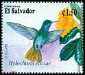 Cl: Blue-throated Goldentail (Hylocharis eliciae) SG 2418 (1998) 80