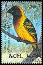 Cl: Village Weaver (Ploceus cucullatus) SG 405 (1998) 130