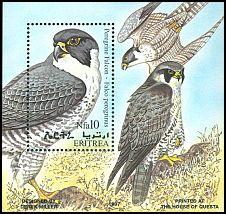 Cl: Peregrine Falcon (Falco peregrinus) SG 423a (1998) 600