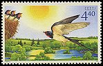Cl: Barn Swallow (Hirundo rustica)(Repeat for this country)  SG 489 (2005)  [3/52]