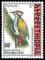 Cl: Abyssinian Woodpecker (Dendropicos abyssinicus)(Repeat for this country)  SG 1702 (1998) 25