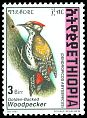 Cl: Abyssinian Woodpecker (Dendropicos abyssinicus)(Repeat for this country)  SG 1711 (1998) 400