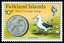 Cl: Black-browed Albatross (Thalassarche melanophris)(Repeat for this country)  SG 319 (1975) 175
