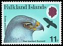 Cl: Red-backed Hawk (Buteo polyosoma)(Repeat for this country)  SG 385 (1980) 80
