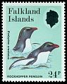 Cl: Rockhopper Penguin (Eudyptes chrysocome)(Repeat for this country)  SG 533 (1986) 150