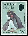 Cl: Rockhopper Penguin (Eudyptes chrysocome)(Repeat for this country)  SG 535 (1986) 225