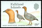 Cl: Ruddy-headed Goose (Chloephaga rubidiceps) SG 561 (1988) 250