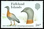 Cl: Ashy-headed Goose (Chloephaga poliocephala) SG 562 (1988) 350