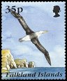 Cl: Black-browed Albatross (Thalassarche melanophris)(Repeat for this country)  SG 747 (1995) 110