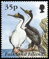 Cl: Imperial Shag (Phalacrocorax atriceps)(Repeat for this country)  SG 748 (1995) 110