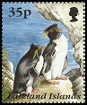 Cl: Rockhopper Penguin (Eudyptes chrysocome)(Repeat for this country)  SG 751 (1995) 110