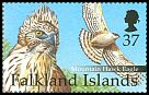 Cl: Mountain Hawk-Eagle (Spizaetus nipalensis)(Out of range)  SG 895b (2001) 325