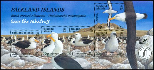 Cl: Black-browed Albatross (Thalassarche melanophris)(Repeat for this country)  SG 971 (2003) 800 [6/32]