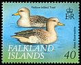 Cl: Speckled Teal (Anas flavirostris) <<Yellow-billed Teal>>  SG 852 (1999)