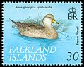 Falkland Is <<Brown Pintail>> SG 850 (1999) ss: spinicauda