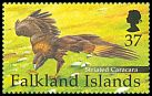 Cl: Striated Caracara (Phalcoboenus australis)(Endemic or near-endemic)  SG 895a (2001) 325