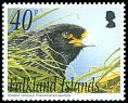 Cl: Striated Caracara (Phalcoboenus australis)(Repeat for this country)  SG 972 (2003)