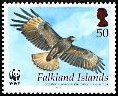 Cl: Striated Caracara (Phalcoboenus australis)(Endemic or near-endemic)  SG 1063 (2006)  [4/17]