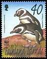 Cl: Magellanic Penguin (Spheniscus magellanicus)(Endemic or near-endemic)  SG 938 (2002)