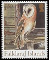 Cl: Barn Owl (Tyto alba)(Repeat for this country)  SG 1000 (2004)  [3/27]