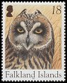 Cl: Short-eared Owl (Asio flammeus)(Repeat for this country)  SG 997 (2004)  [3/27]