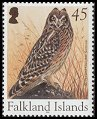 Cl: Short-eared Owl (Asio flammeus)(Repeat for this country)  SG 998 (2004)  [3/27]