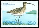 Cl: Whimbrel (Numenius phaeopus) <<Spogvi>>  SG 29 (1977) 55