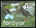 Cl: European Starling (Sturnus vulgaris)(Repeat for this country)  SG 554h (2007)