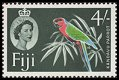 Cl: Red Shining-Parrot (Prosopeia tabuensis) SG 308 (1959) 175